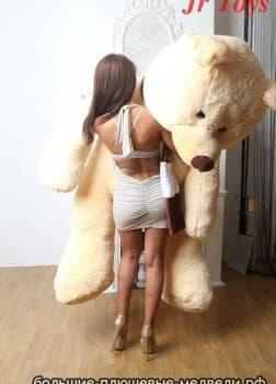 Огромный медведь Балу 210 см жемчужный