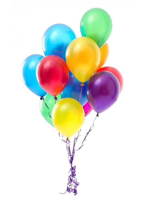 25 гелиевых шариков