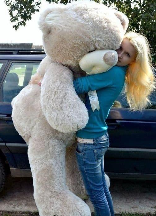 Мягкая игрушка медведь большой 160 см Барни