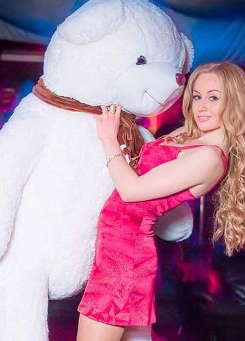 Большой белый медведь Бруно 170 см