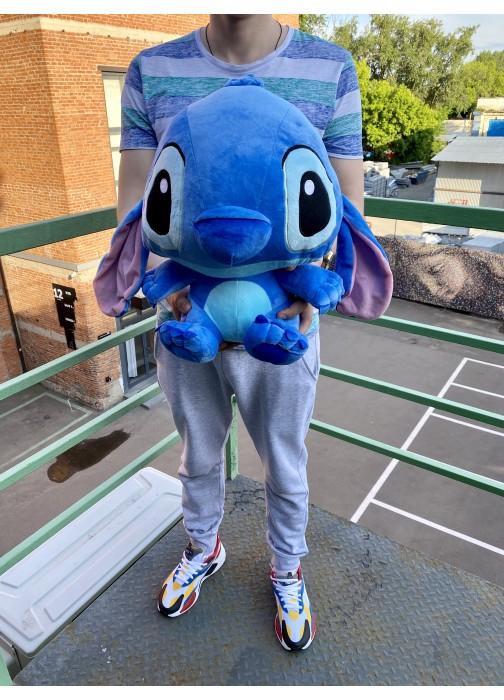 Синяя игрушка Стич 45 см