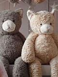 Плюшевые медведи как привлекательный акцент