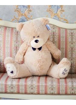 Большая мягкая игрушка Тедди бежевый 80 см
