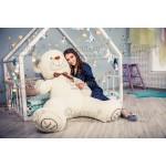 Большая мягкая игрушка медведь Алекс 165 см