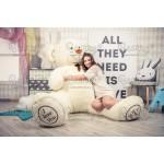 Большой белый медведь игрушка Алекс 210 см