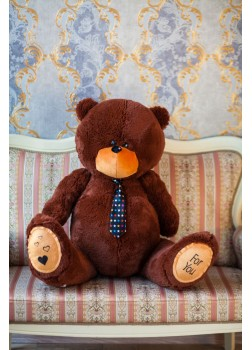 Мишка Тедди 130 см бурый