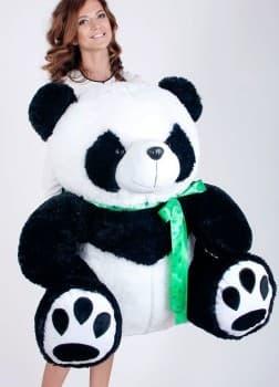 Большая мягкая игрушка панда 140 см