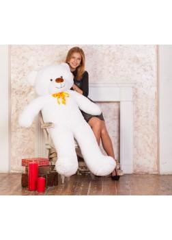 Большой плюшевый медведь Феликс 160 см белый