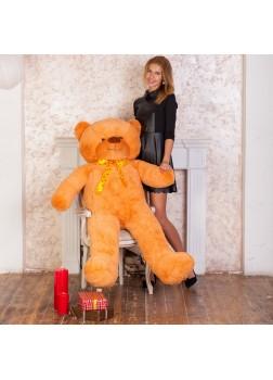 Большой плюшевый медведь Феликс 160 см карамельный