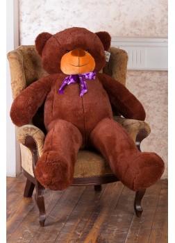 Большой плюшевый медведь Феликс 160 см бурый