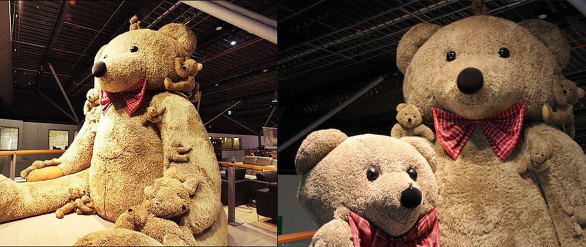 самый большой плюшевый медведь в мире фото нас можно купить